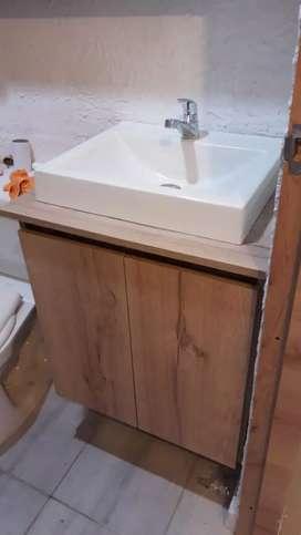 Mueble de lavamanos baño cocinas closets