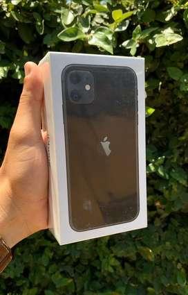 Vendo iphone 11 black nuevo sellado