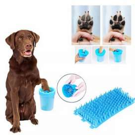 Lavador de patitas para mascotas