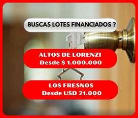 ►MANCISIDOR PROP◄ LOTES FINANCIADOS!!!
