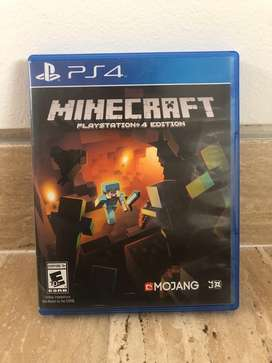 Minecraft para PS4 en gran precio