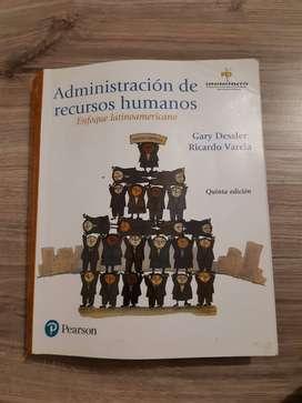 Libro Administración de recursos humanos Pearson