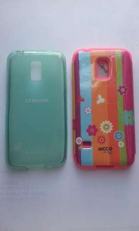 Estuche Resistente Antichoque  Samsung S5 Mini G800