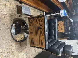vendo sillas de barberia y lava cabezas