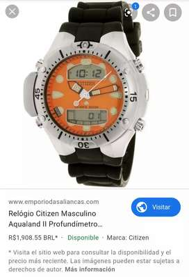 Vendo reloj citizen aqualand promaster