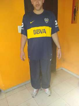 Vendo patalon de boca juniors XL más la camiseta