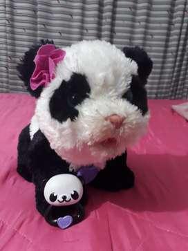Bebe Panda Mascota Pom Pom.