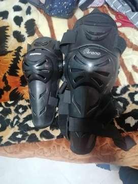 Protecciones motociclista