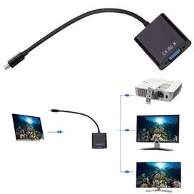 DisplayPort DP macho a VGA hembra Adaptador Display Port Cable convertidor