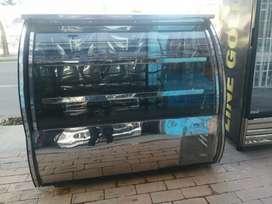 Nevera de Refrigeración tipo Mostrador en acero inoxidable