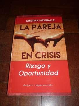 LA PAREJA EN CRISIS . CRISTINA MEYRIALLE . LIBRO VINCIGUERRA 2016 IMPECABLE