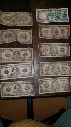 Monedas Y Billetes de Sucre