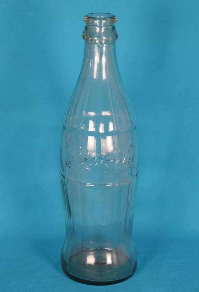 Botella Gigante De Coca-Cola / En Vidrio / 51 Cm Alta / 5 L
