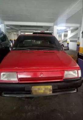 Renault 9, 1996, sedan.
