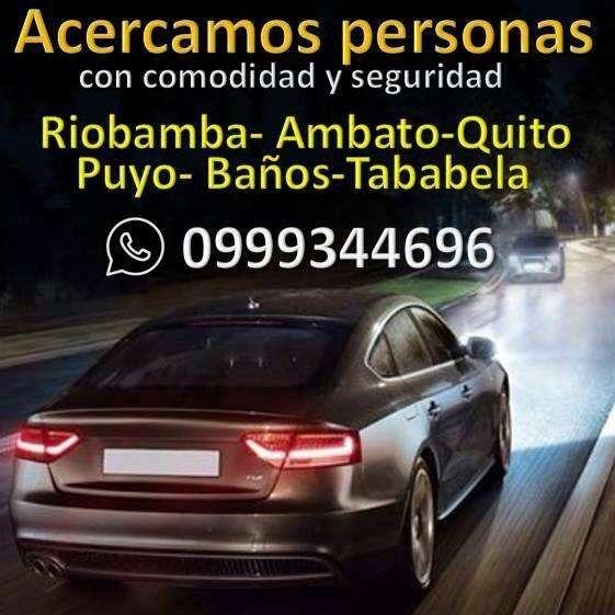 Servicio de taxi puerta a puerta interprovincial Ambato Quito Aeropuerto y viceversa 0