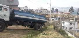 Tanquero de agua