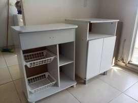 Mesas auxiliares de cocina organizadoras