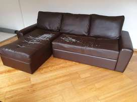 Large L shape sofa bed