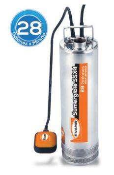 Bomba para Cisterna 2 Hp INOX. SSX4ME200G2-FI