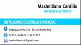 Ing Electricista Matriculado.
