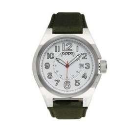 Reloj Deportivo Pulso Verde. Zippo. Original. Entrega Banimported