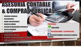 ASESORIA CONTABLE Y EN COMPRAS PUBLICAS C&A OFRECE LOS MEJORES SERVICIOS Y PRECIOS ECONÓMICOS