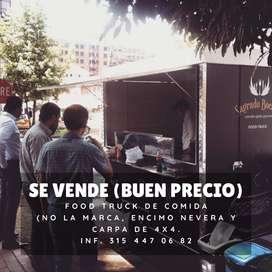 Vendo Food Trcuk de comida con ñapa