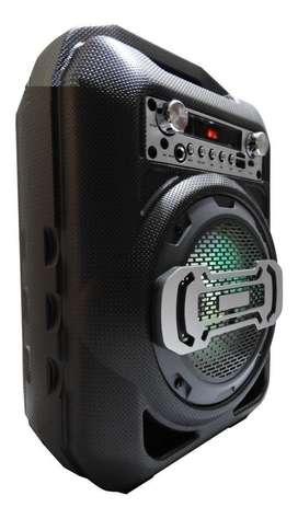 Parlante Altavoz Portatil Bluetooth, Fm, Usb, Sd ,Aux, Microfono Bs11