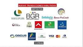 PLATAFORMA PARA RECARGAS /PAGOS DE SERVICIOS /SERVICIOS BANCARIOS