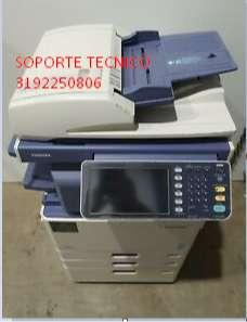 venta y soporte tecnico portatiles PARTES IMPRESORAS LASER TOSHIBA COLOR ESCANER Y TONERS DE RECARGA