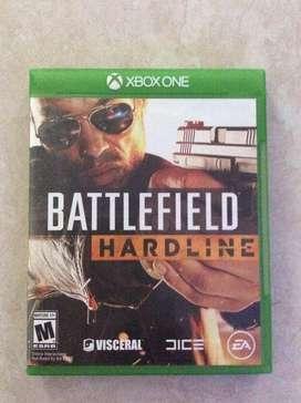Juego para xbox one battlefield hardline original