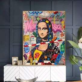 Venta de exclusiva Mona Lisa Pintada a Mano.