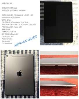 """iPad Pro 9.7"""" NEGOCIABLE"""