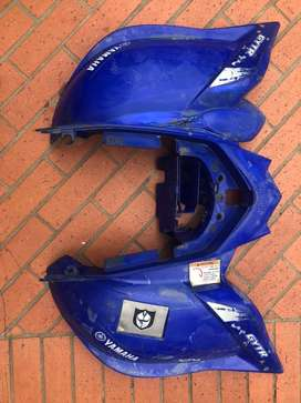 Guardabarros de yamaha raptor 700