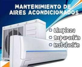 Aire Acondicionado split ( Instalación y reparación) Aceptamos tarjeta de crédito y débito