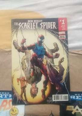 Cómic Ben Riley Scarlet Spider #1