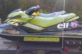 MOTONAUTICA MARCA SEADOO MODELO RXP del 2004, de 215 HP.