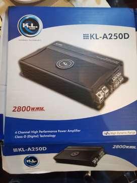 Planta de sonido K.L 2800