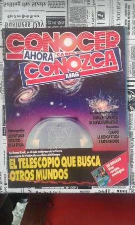 Antigua Revista Conozca Mas. Año 1991 Numero 38