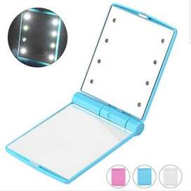 Espejo de Compacto con Luces Led