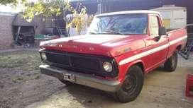 Vendo F100 V8 GNC 1972