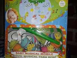 Vendo móvil musical para bebé