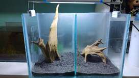 Acuarios doble para parejas pez betta