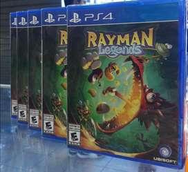 Rayman Legends Ps4 Nuevo Sellado Stock