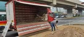 eliminación de desmonte y recojo de malezas