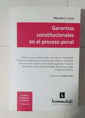 Alejandro Carrió - Garantías constitucionales en el proceso penal.