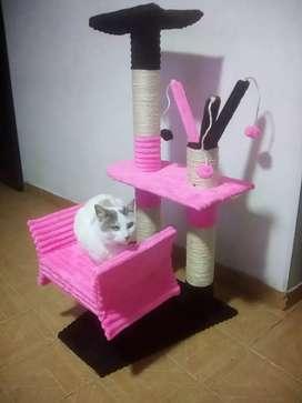 Gym comodo y confortable para gat@.
