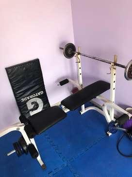 Banco plano Gym
