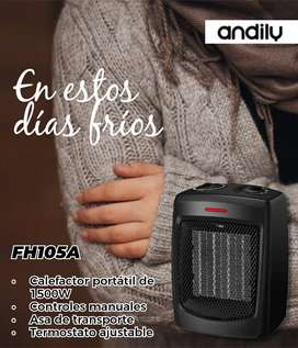Calentador Portátil De 1500w Andily