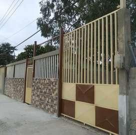Se alquila villa en la Libertad Cdla. Puerto Nuevo